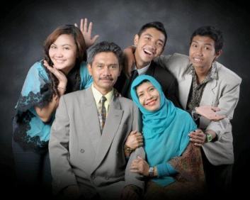 my family on my graduation day