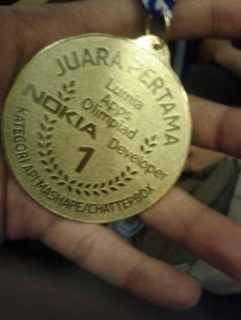 (ceritanya) gold medal